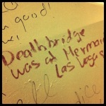 Bathroom at Mermaids in downtown Vegas